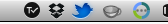 Twitter menu bar notification