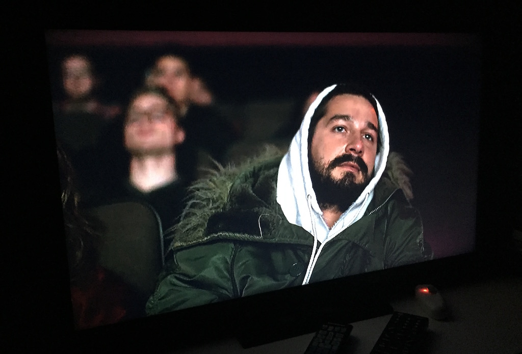 Snapshot of Shai LaBeouf during #ALLMYMOVIES