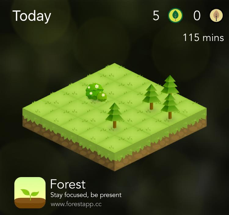 Forest for iOS